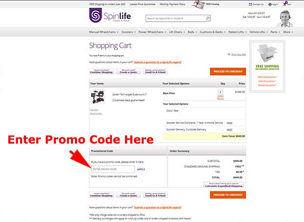 SpinLife Promo Code
