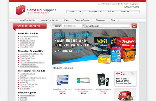 e-first aid Supplies review