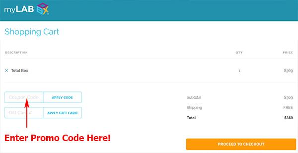 mylab box coupon